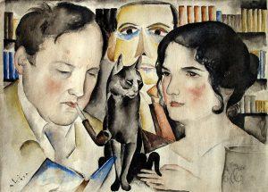 ilhelm Fraenger, Gustel Fraenger und Ali Lichtenstein, von Ali Lichtenstein 1922