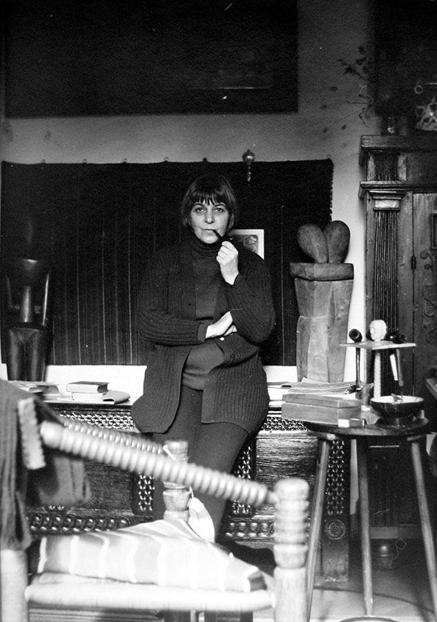 Ingeborg Baier-Fraenger, 1974 (Foto: Klaus Baier)